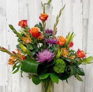 Warm Textures Bouquet