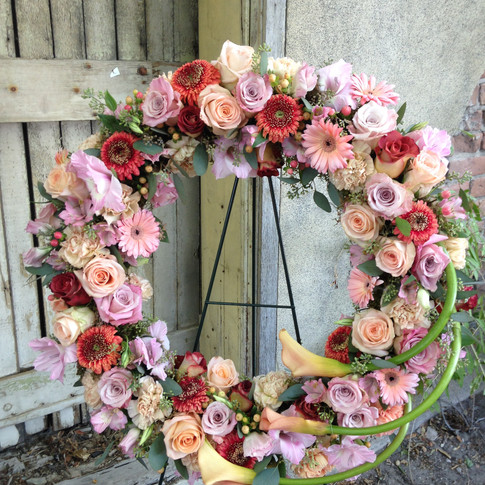 Soft Feminine Wreath