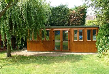 Garden Offices, Garages, Lean To's, Garden Rooms - In Hampshire, UK