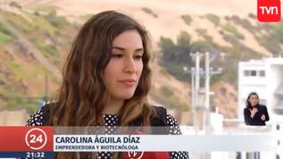 Entrevista TVN - Carolina Águila Díaz