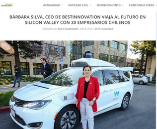 Barbara Silva, viaja al futuro con 30 empresarios chilenos...