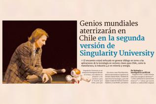Genios mundiales aterrizarán en Chile en la segunda versión de Singularity University