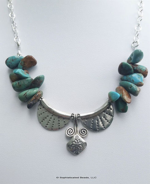 LeaMcWhorter_Turquoise & Sterling Neckla