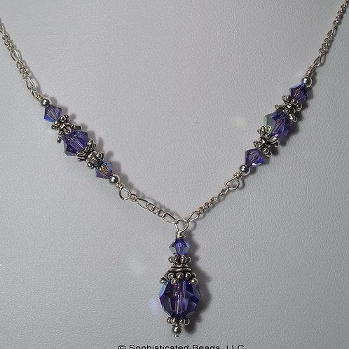 Tanzanite Sparkle Necklace