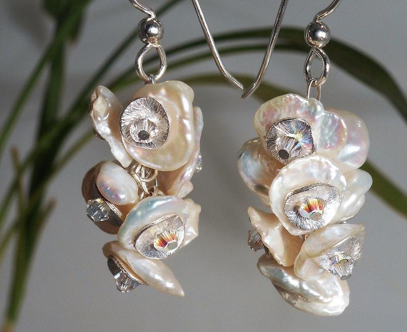 Keishi Pearls & Swarovski Crystal Earrings - Sophisticated Beads_edited.jpg