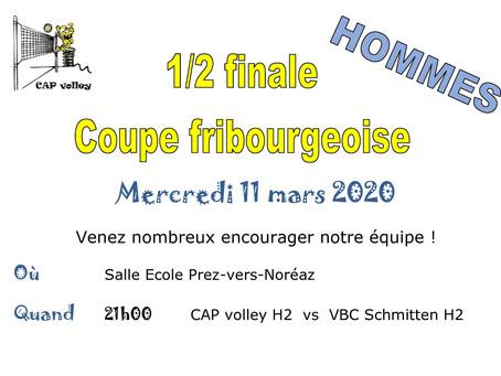 1/2 Finales Homme et Femme 2L