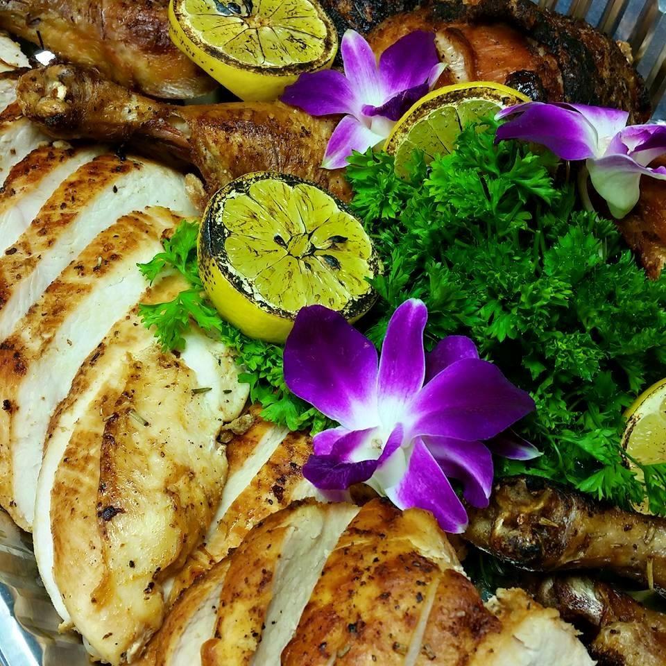 Lemon Herbed Roasted Chicken
