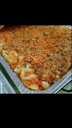 Dorito Crusted Mac & Cheese
