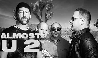 ALMOST U2 Black and White