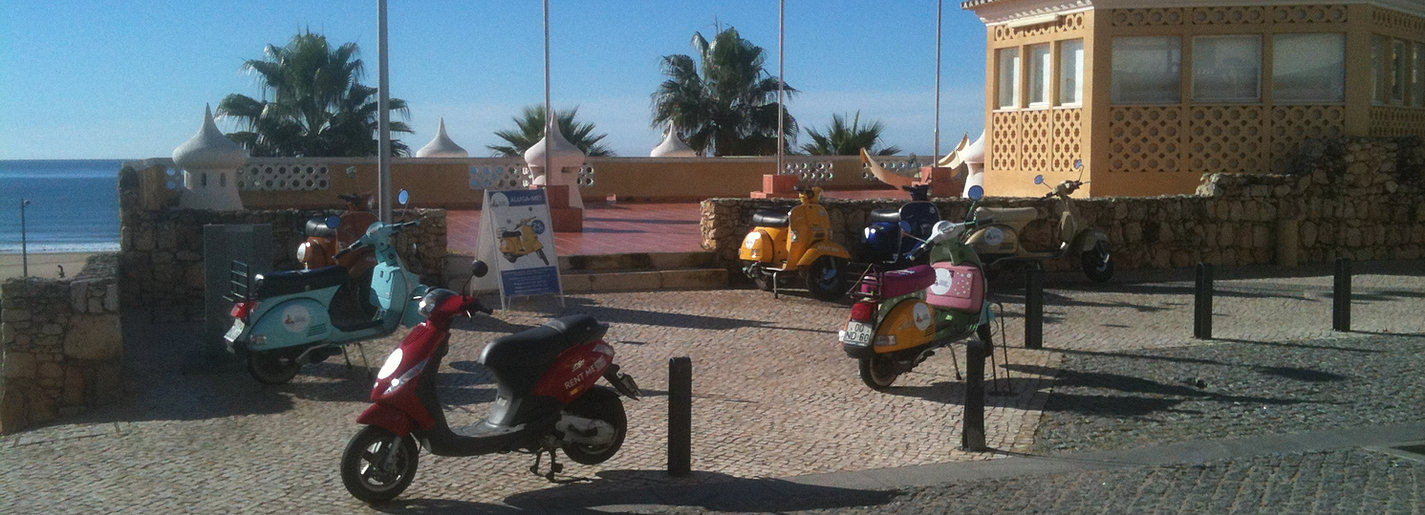 roller vespa mieten algarve. Black Bedroom Furniture Sets. Home Design Ideas