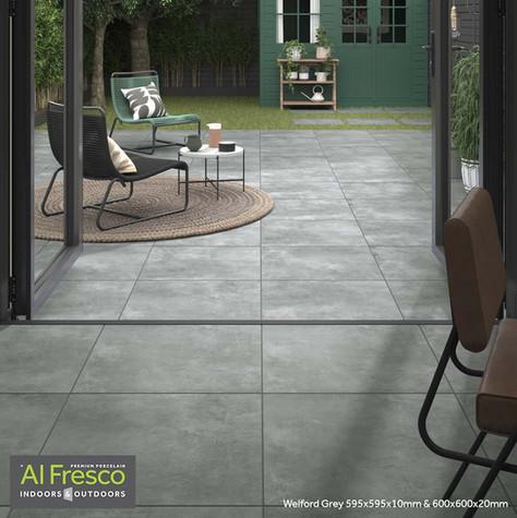 Welford Grey 595x595x10mm