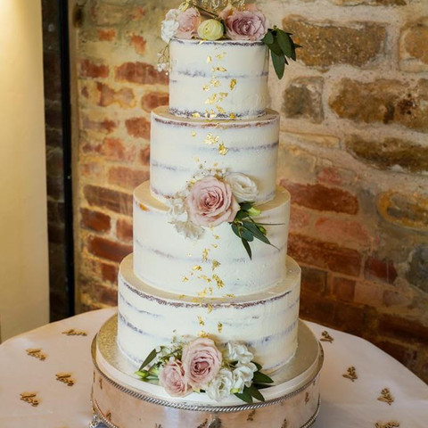 Hannah & Jason's Wedding Cake