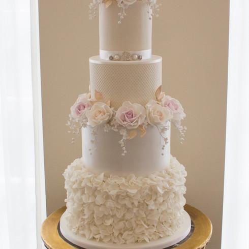 Sarah & Sonnies Wedding Cake