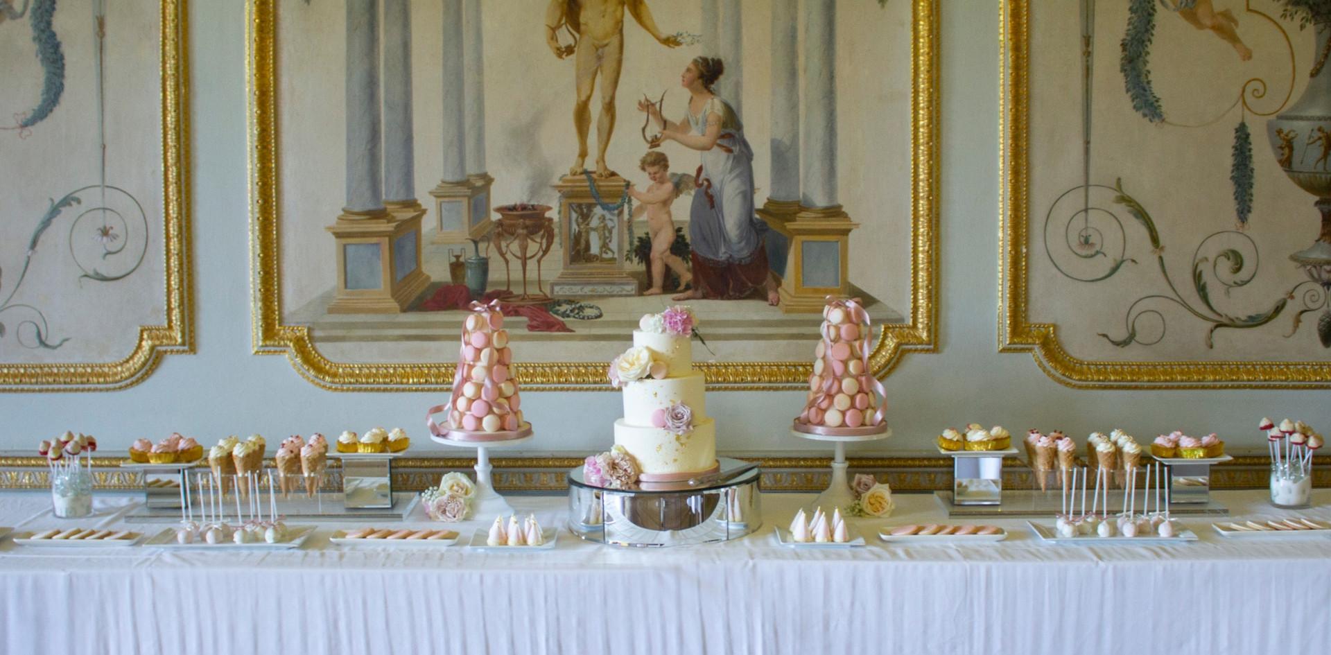 Stowe House Dessert Table