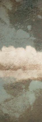 Cloud on Folded Paper