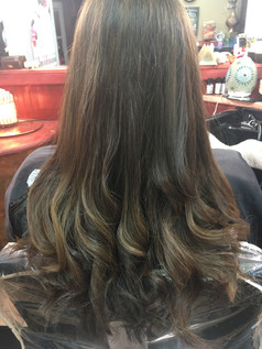 Rich color and highlights