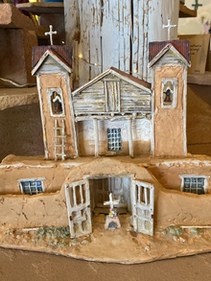 Sanctuario de Chimayo Diorama by Tim Prythero