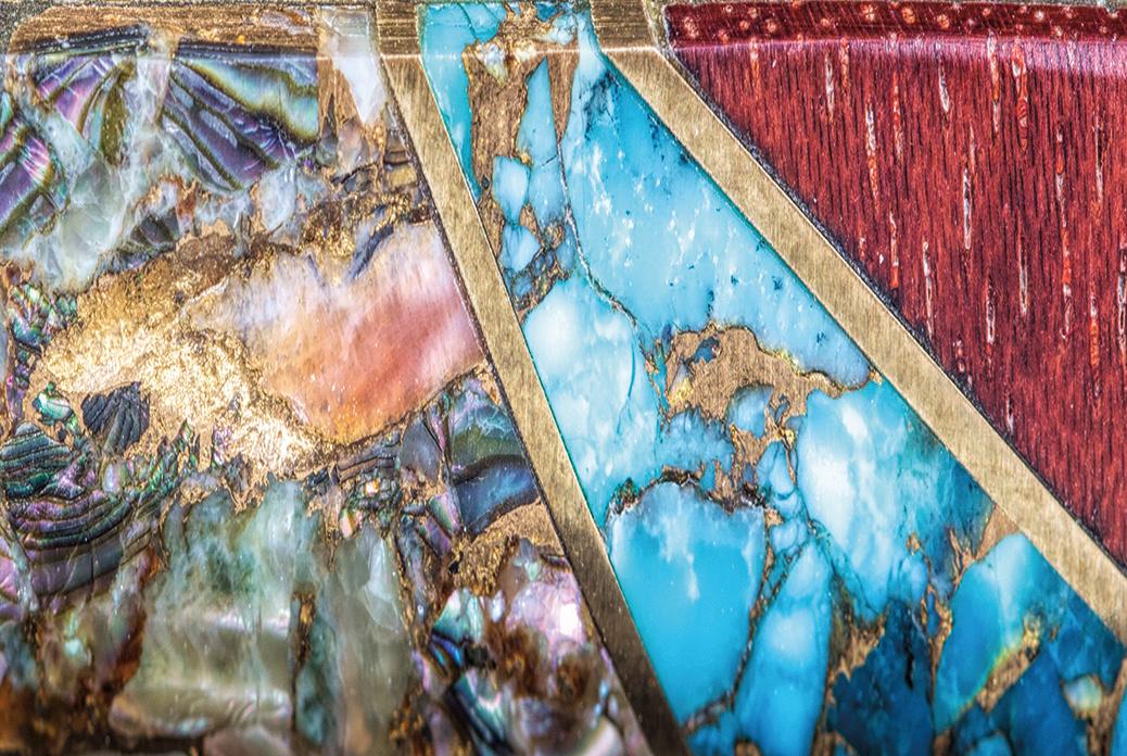 Larry Santistevan Knife Detail