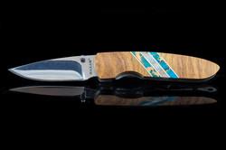Larry Santistevan Knife