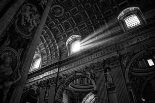 God's Light at St. Peters