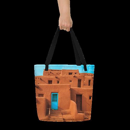 New Mexican Pueblo Tote Bag