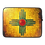 Thumbnail: New Mexico Turquoise Sunburst Zia Laptop Sleeve