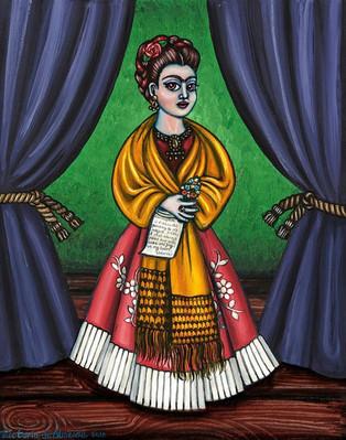 Frida Kahlo-Curtains for Friday