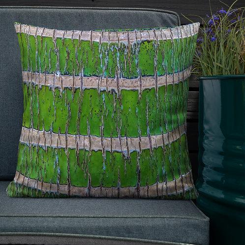 Keola Loa-Hawaii Throw Pillow by Robert Arrington