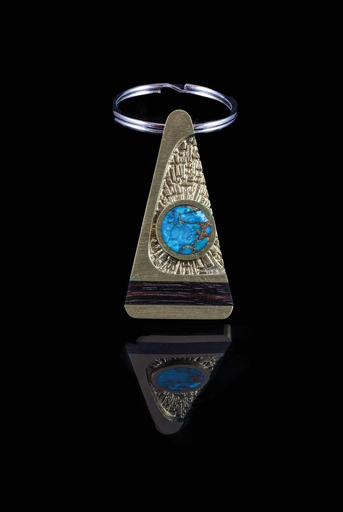 Larry Santistevan Key Ring