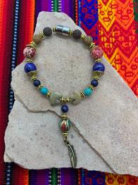 Turquoise Bear 4 - $65