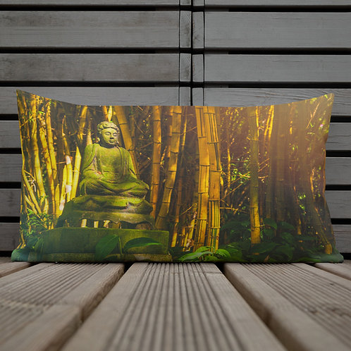 Lord of the Woods-Hawaii Throw Pillow by Robert Arrington