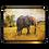 Thumbnail: Elephant Love-African Elephant Laptop Sleeve