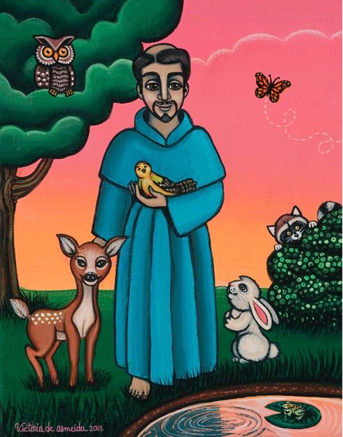St. Francis Animal's Saint
