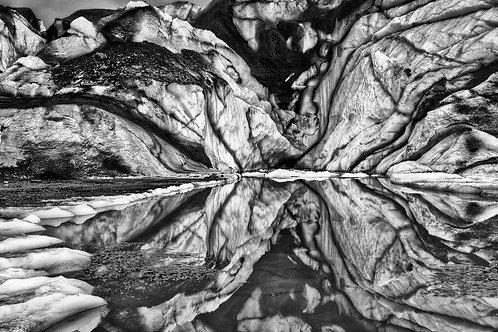 Matanuska Glacier,  Alaska | Vivid Metal Print