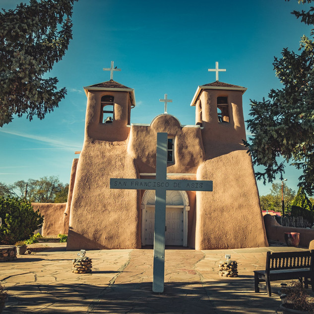 San Francisco de Asís Mission Church | Taos, New Mexico