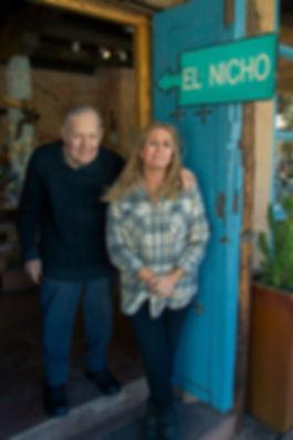 El Nicho Santa Fe Owners Debi Haraden and Bob Salkeld