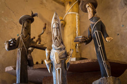 El Nicho Santa Fe Ortega Carvings