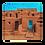 Thumbnail: Taos Pueblo Premium Pillow Case (Pillow Not Included)
