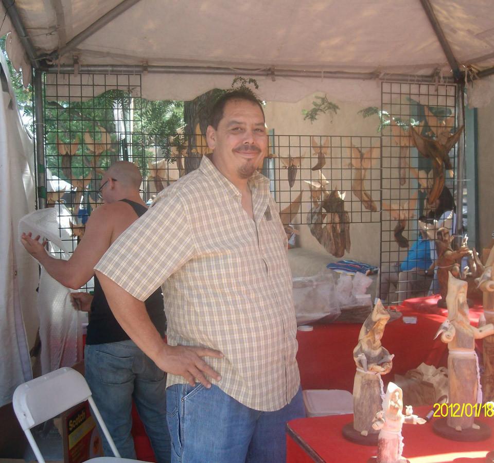 Pete at Spanish Market