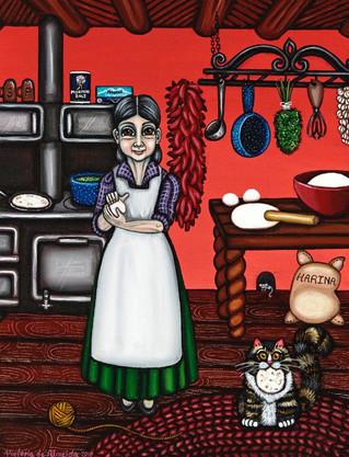 Abuelita or Grandma (Red)