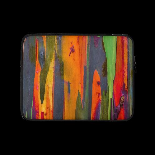 Hawaiian Rainbow Eucalyptus Laptop Sleeve
