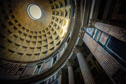 Pantheon, Rome | Vivid Metal Print