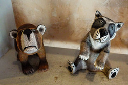 Joe Ortega's Bear and Badger