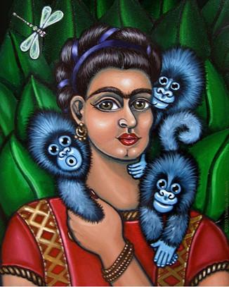 Frida Kahlo-Frida's Triplets