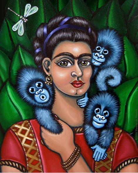 Frida with Triplets.jpg