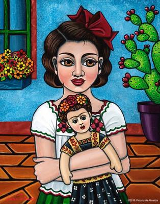 Frida Kahlo-The Blue House