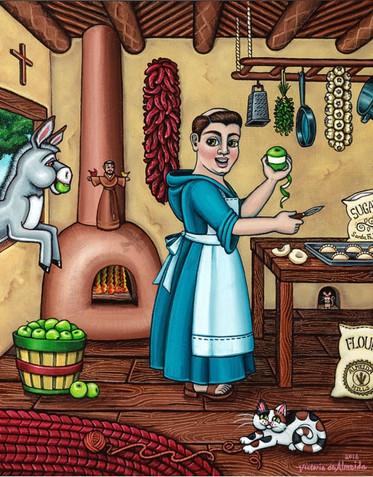 Burritos in the Kitchen