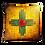 Thumbnail: New Mexico Zia Sunburst -Premium Pillow