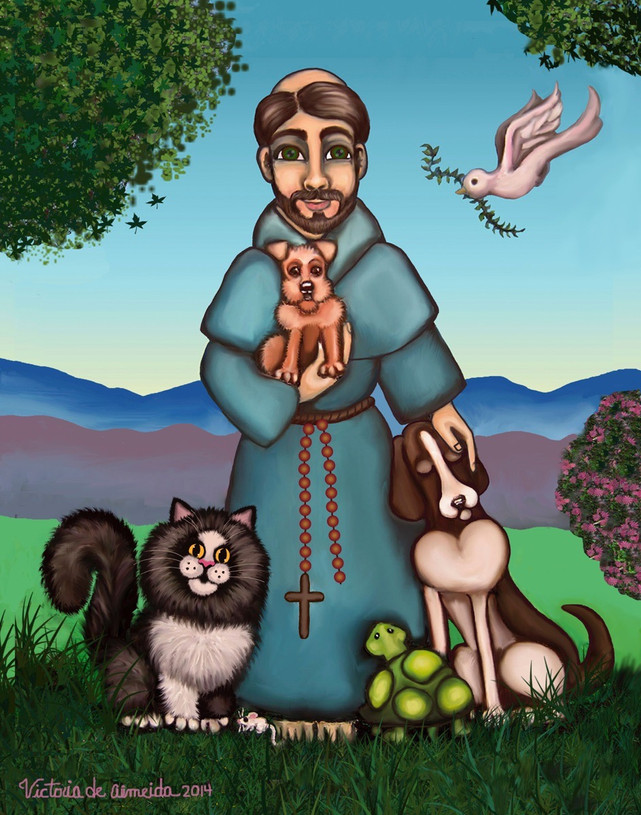 St. Francis Libertys Blessing