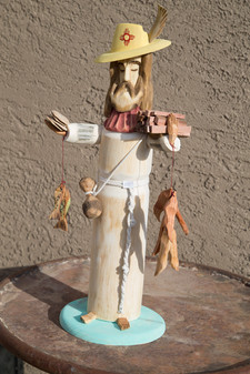 New Mexican San Pasqual by Pete Ortega